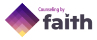 counseling by faith logo
